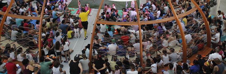 Espetáculo Jogando no Quintal - Foto Equipe BVL (4)