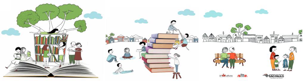 Ilustração de Graziella Mattar, em Sustentabilidade como mobilizar pessoas e recursos para sua biblioteca